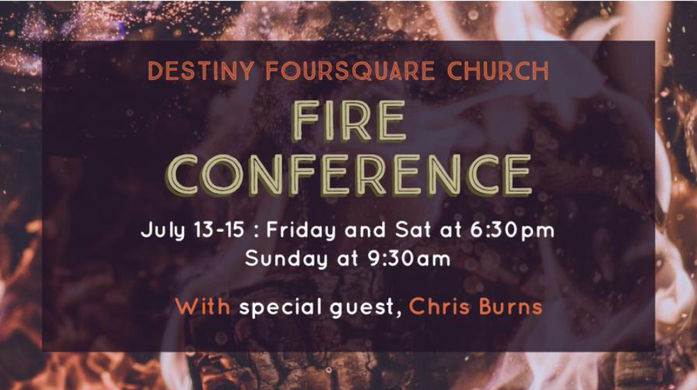 Fire Conference with Chris Burns