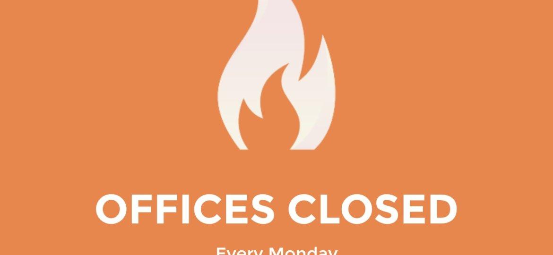Offices Closed e7874e