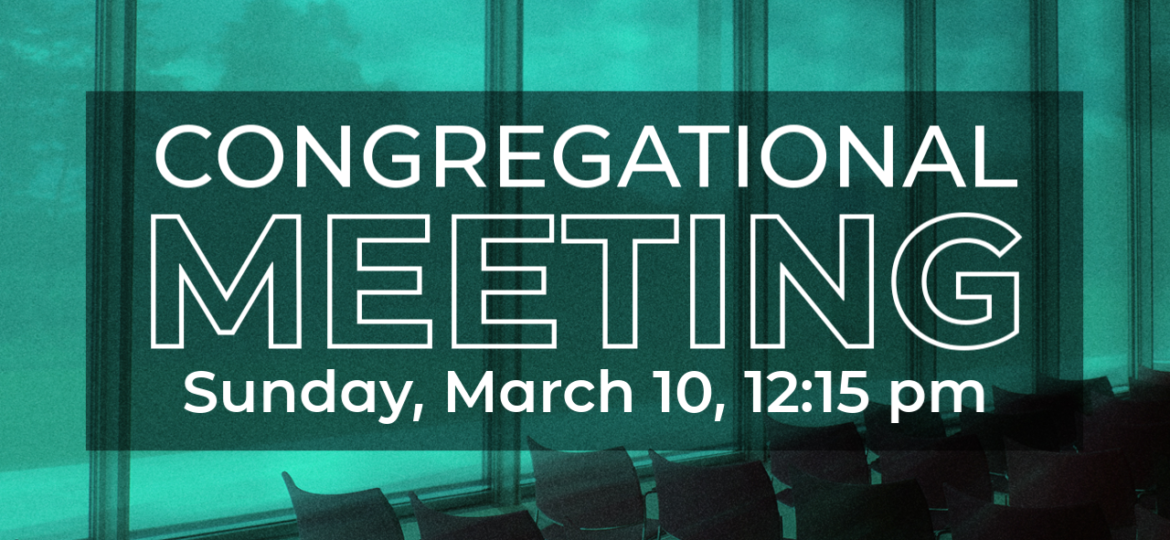 Congregational Meeting