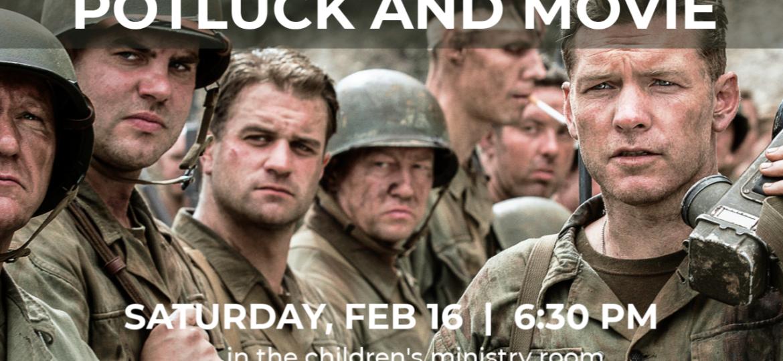 Men's Potluck and Movie Night