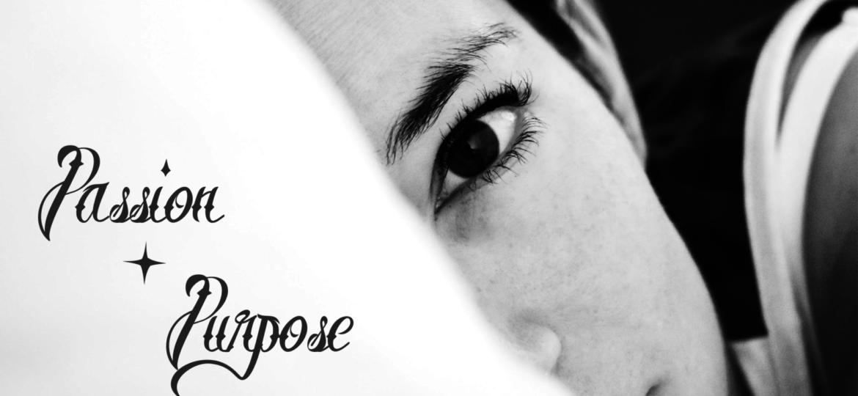 Passion + Purpose Title Graphic