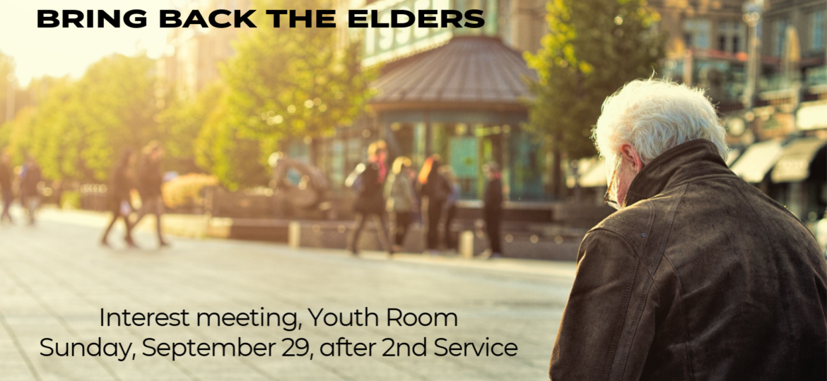 Bring-Back the Elders
