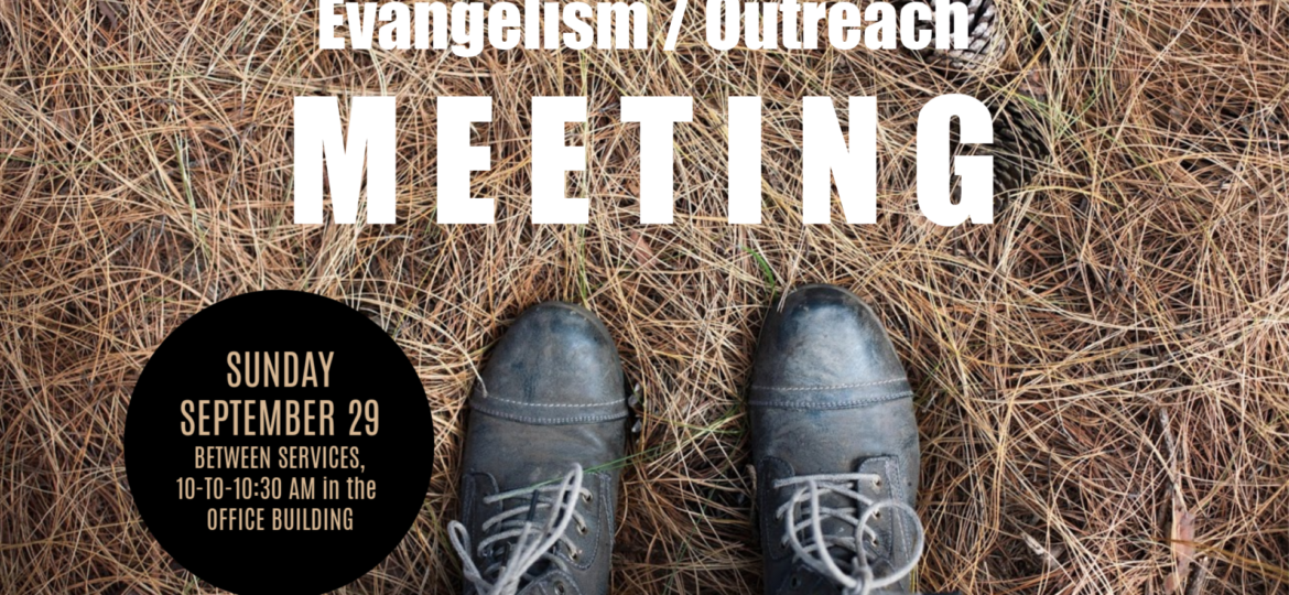 Outreach Meeting
