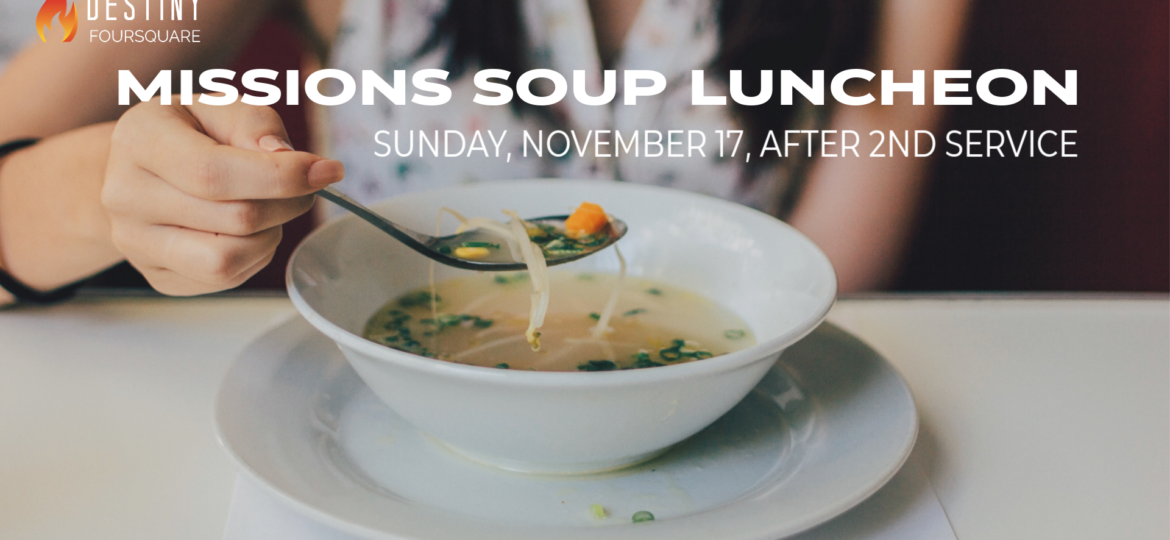 Missions Soup Luncheon