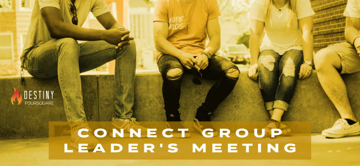 Connect Group Leader's Meeting web
