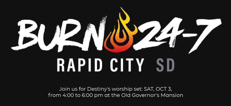 Burn 24-7 Launching Event