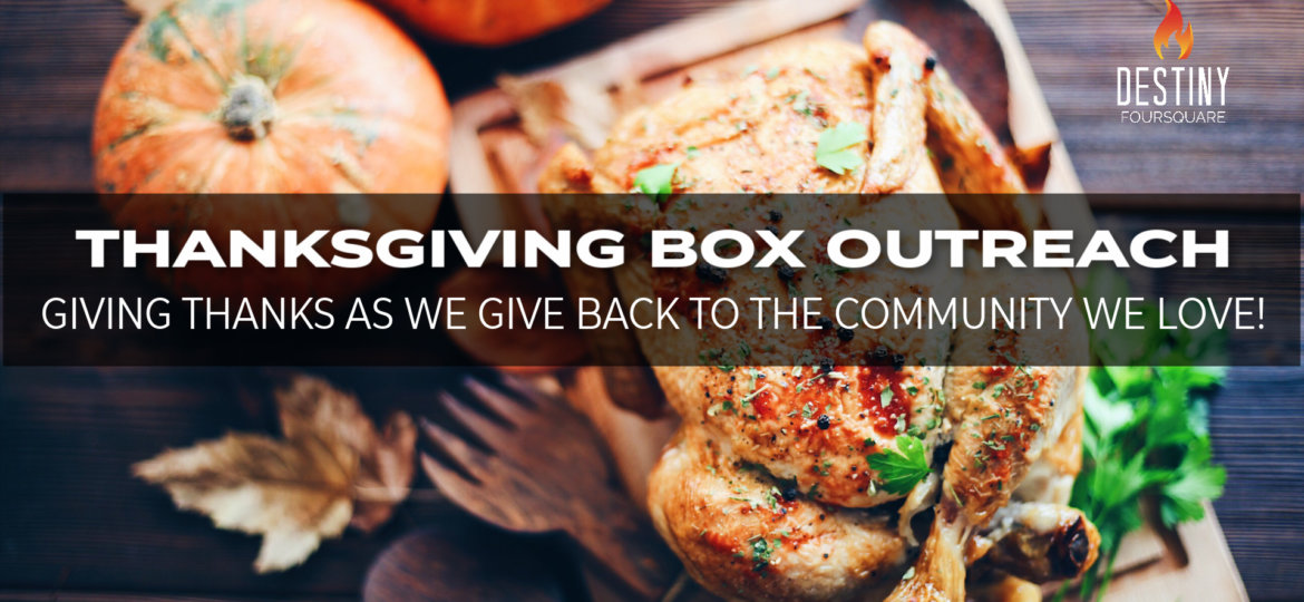 Thanksgiving Box Outreach Website