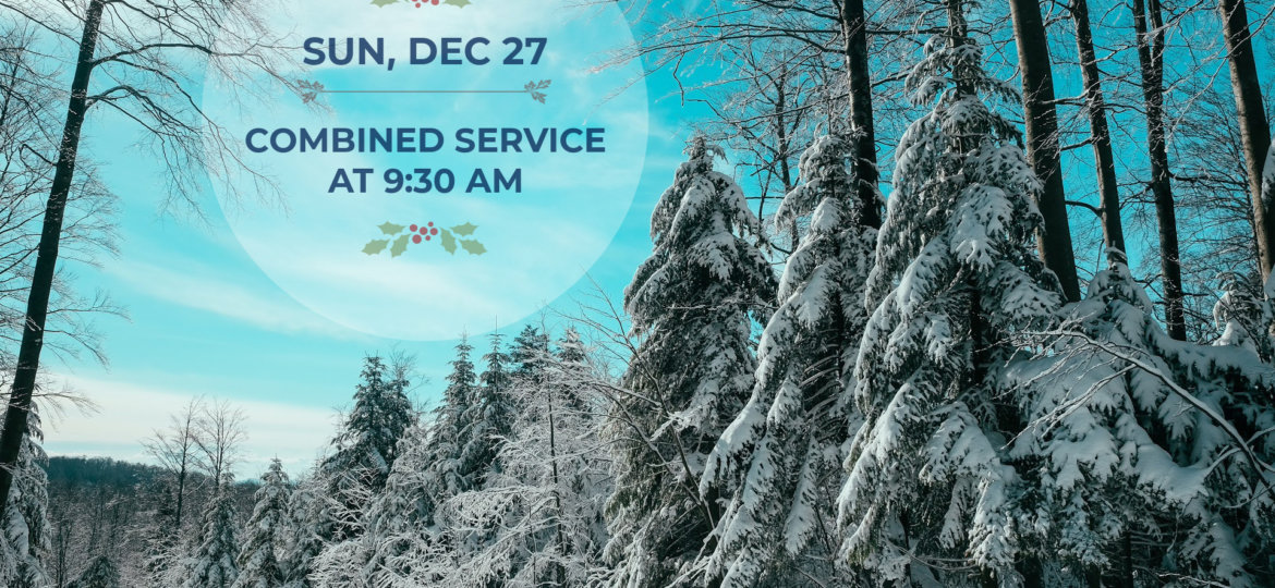 Combined Service Christmas