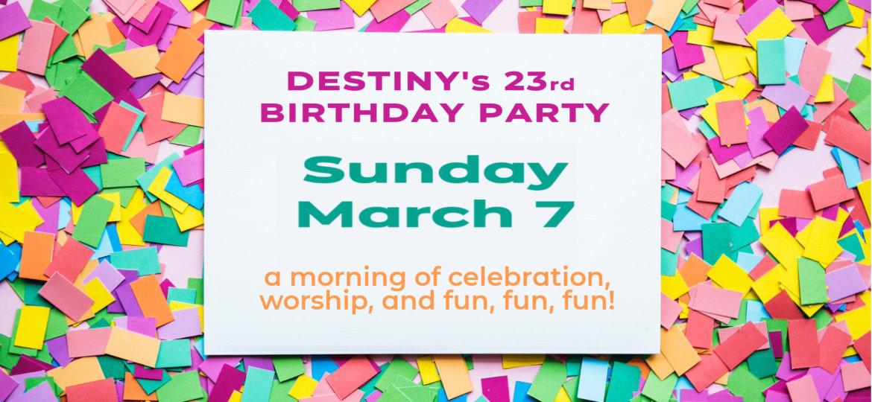 Birthday Celebration 23rd