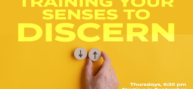 Training Your Senses to Discern